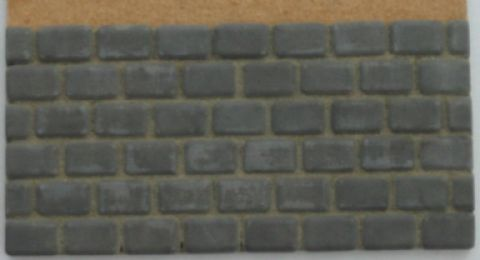 Grey Cobble Stones - Dolls House